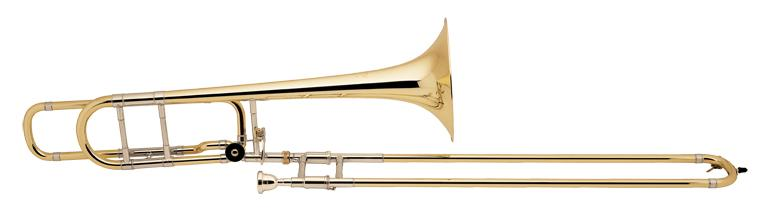 Trombone Sib/Fa Stradivarius perce large, open wrap