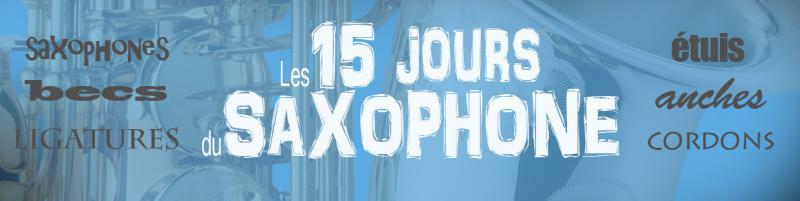 Les 15 jours du saxophone